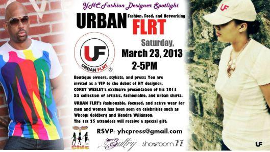 Urban Flrt Flyer 2013