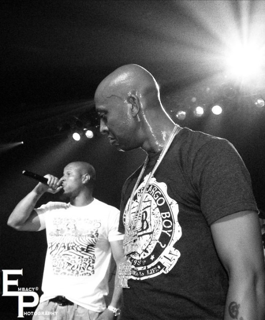 Gillie Da Kid and Spade-P [on the mic]. Styles P. Photo courtesy of Embacy Photography. EmbacyEntertainment.com